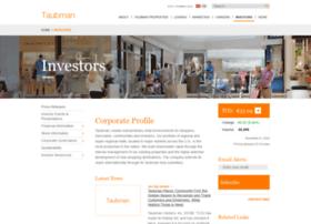 investors.taubman.com