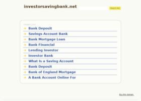 investorsavingbank.net