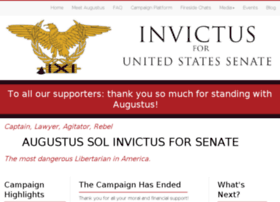 invictusforsenate.com