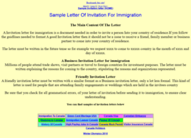 invitationletter.net