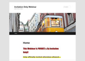 invitationonlywebinar.com