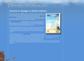 invitationsinabottle.com
