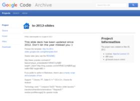 io-2012-slides.googlecode.com
