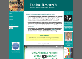 iodineresearch.com