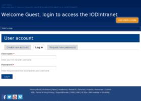 iodintranet.unh.edu