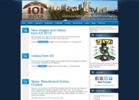 ioi2013.org