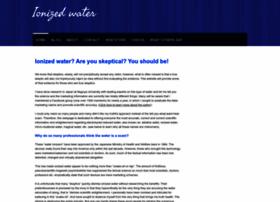 ionizedwater.webs.com