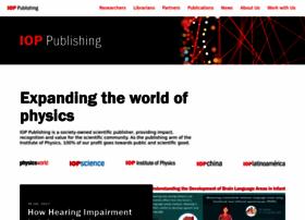 ioppublishing.org