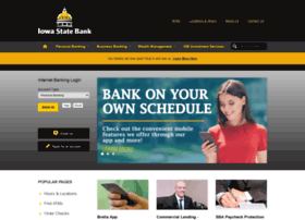 www.iowastatebanks.com Visit site