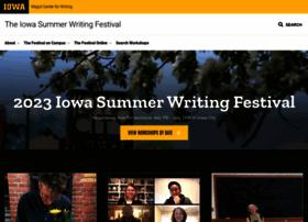 iowasummerwritingfestival.org