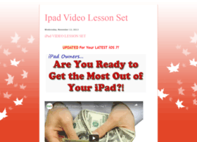 ipad-lesson-video.blogspot.com