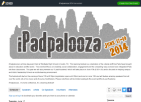 ipadpalooza2014.sched.org