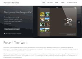 Ipadportfolioapp.com