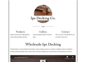 ipedeckingco.com