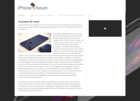 iphone-forum.fr