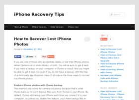 iphone-recovery-tips.com