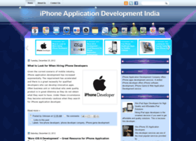 iphoneapplicationdevelopmentindia.blogspot.in