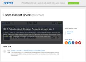 iphoneblacklistcheck.pr.co