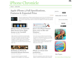 iphonechronicle.com