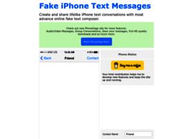 iphonefaketext.com
