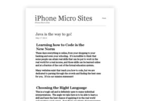 iphonemicrosites.com