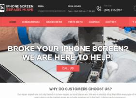 iphonescreenrepairsmiami.com