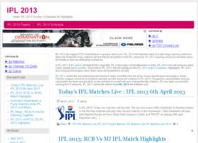 ipl-2013.com