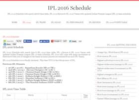 ipl2016schedule.com