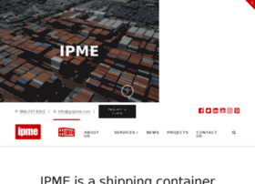 ipmecontainersolutions.com