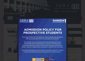 iqraisb.edu.pk