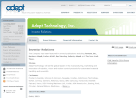ir.adept.com