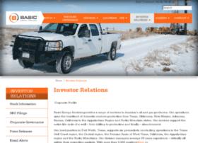 ir.basicenergyservices.com