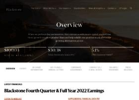 ir.blackstone.com