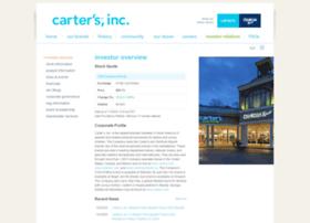 ir.carters.com