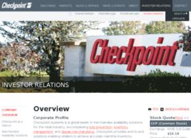 ir.checkpointsystems.com