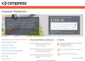 ir.cimpress.com