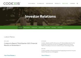 ir.codexis.com