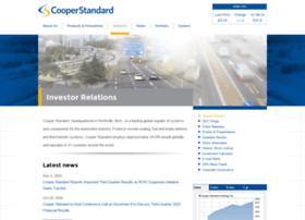 ir.cooperstandard.com