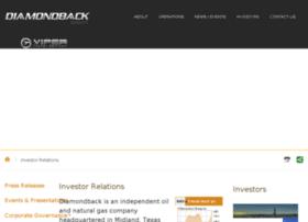 ir.diamondbackenergy.com