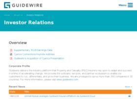 ir.guidewire.com