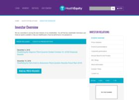 ir.healthequity.com