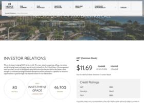 ir.hosthotels.com