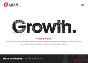 ir.lear.com