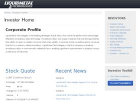 ir.liquidmetal.com