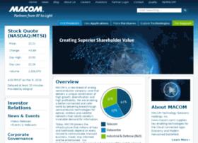 ir.macom.com