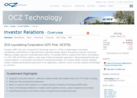ir.ocz.com