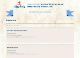ir.pilgrims.com