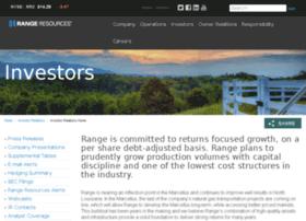 ir.rangeresources.com