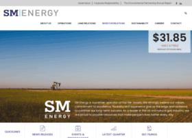 ir.sm-energy.com