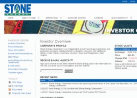 ir.stoneenergy.com